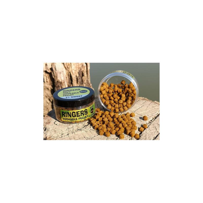 Pellets d'eschage moelleux SOFT HOOK Mango N-Butyric  FUN FISHING